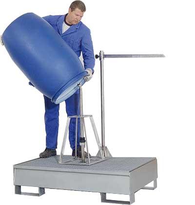 Fassreinigung mit Hochdrucklanze
