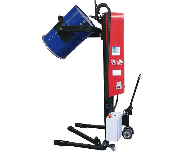 Dreh-Kipp-Greifer mit Spannautomatik